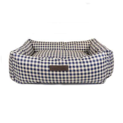 Blue Vichy Waterproof Bed